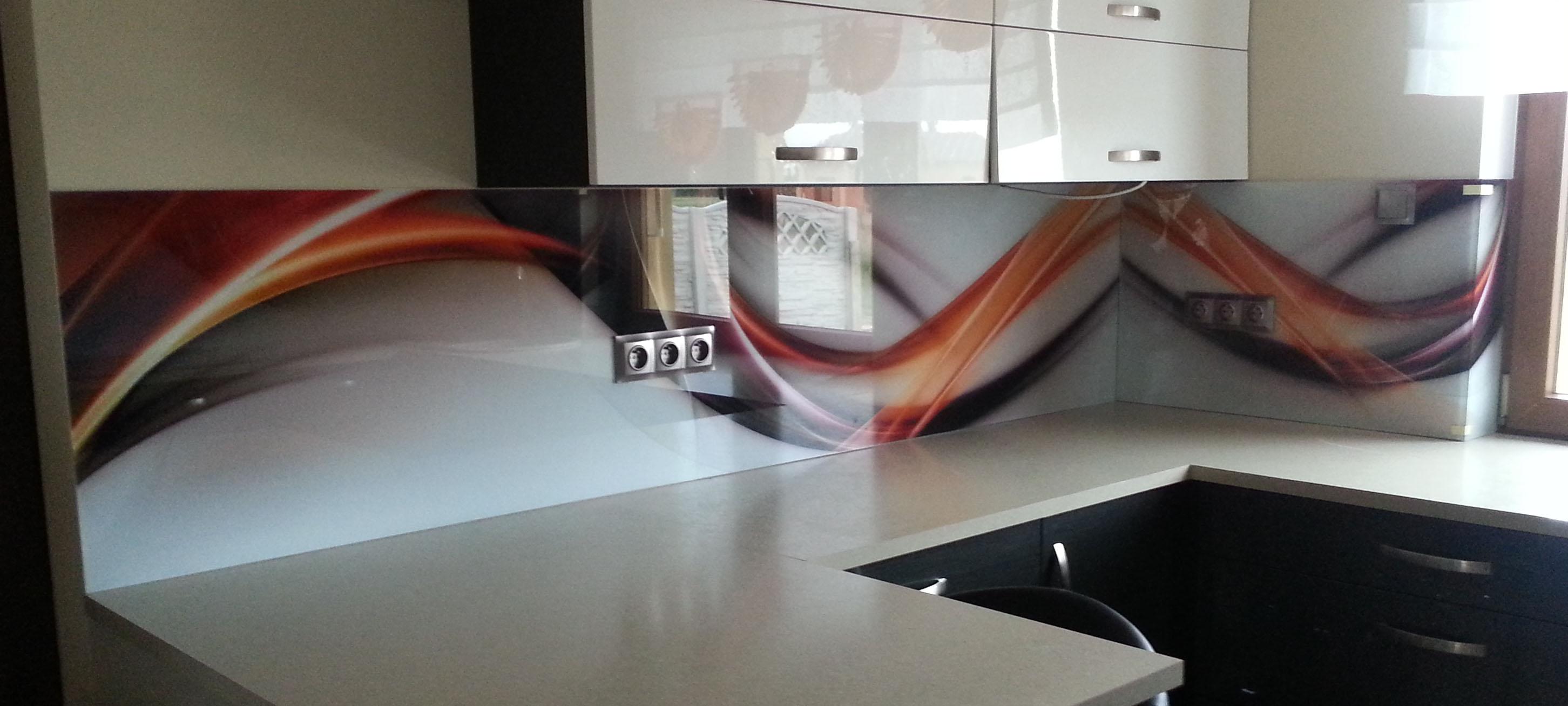 Panel szklany abstrakcja 1