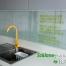 Szkło do kuchni - złote napisy