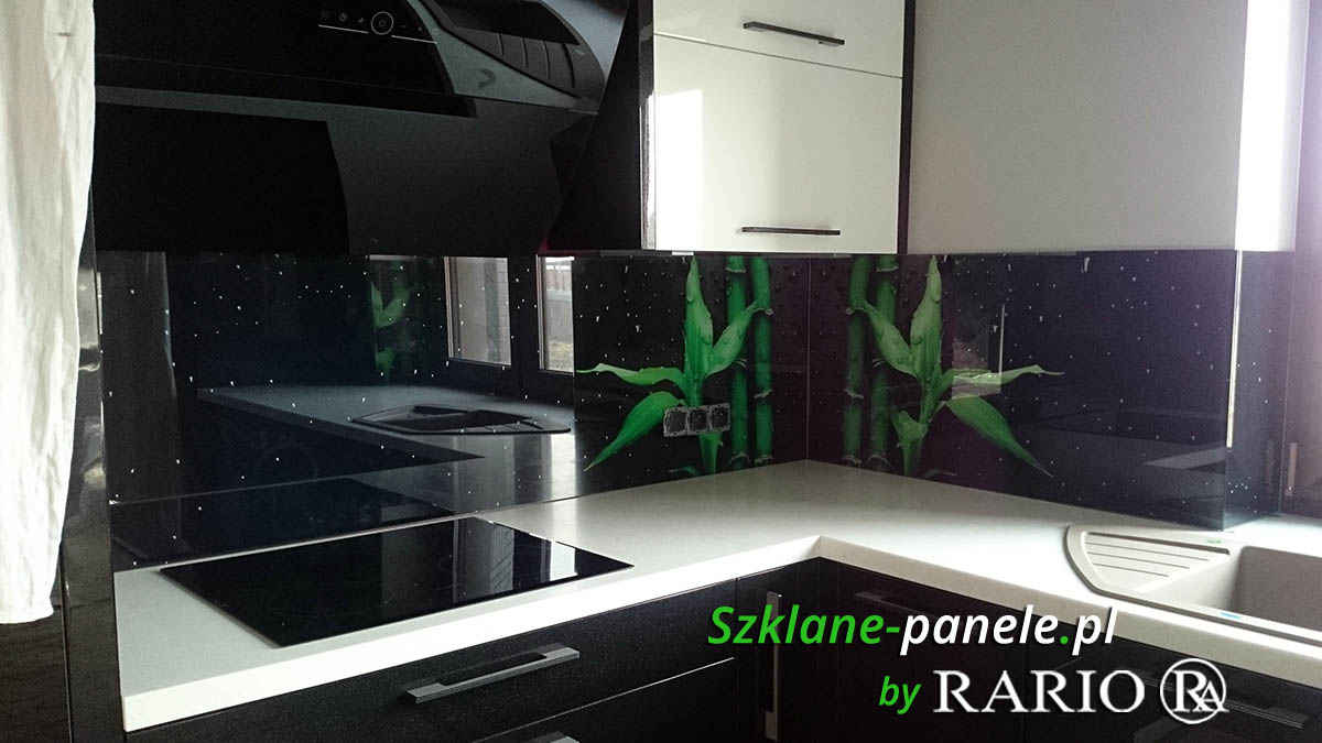 Szkło do kuchni - bambusy