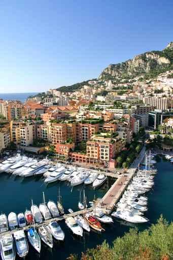Panele szklane - Monaco