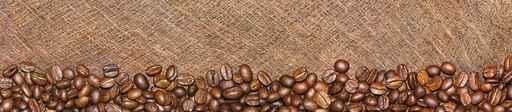 Panele szklane - płótno, kawa