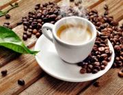 Panele szklane - kawa