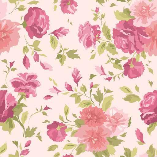 Grafika na szkło - retro róże