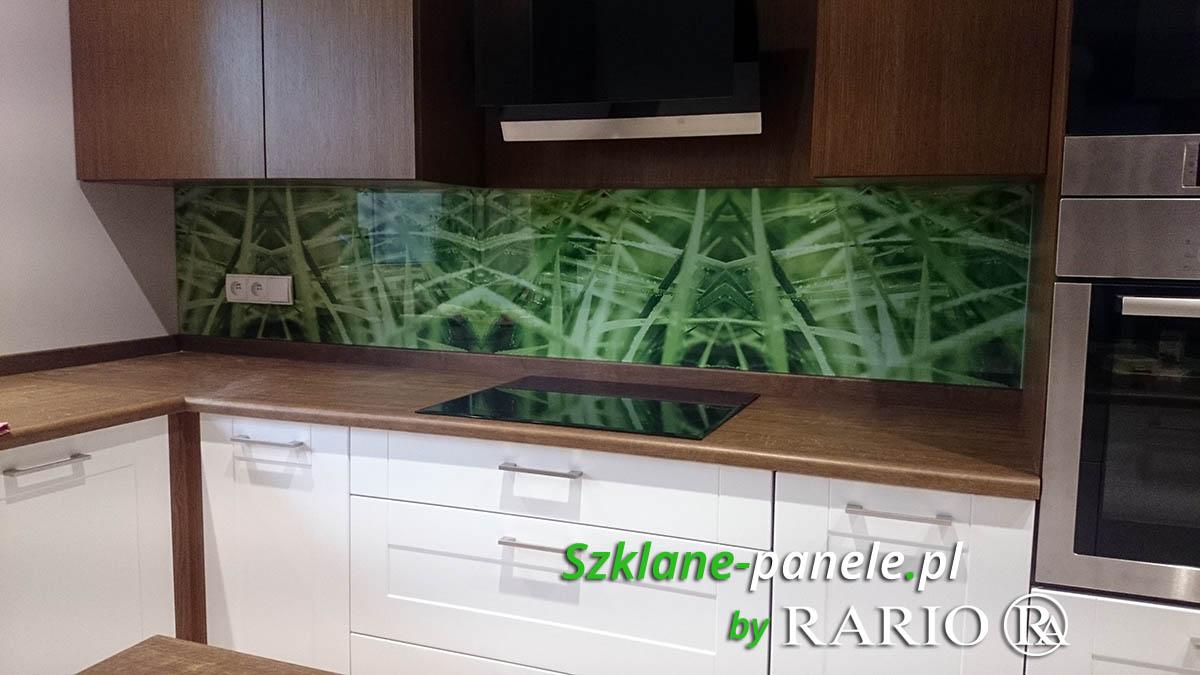 Szkło do kuchni realizacja